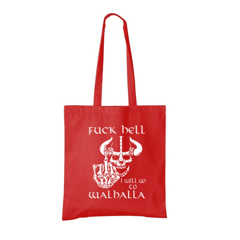 Fuck Hell Bevásárló táska