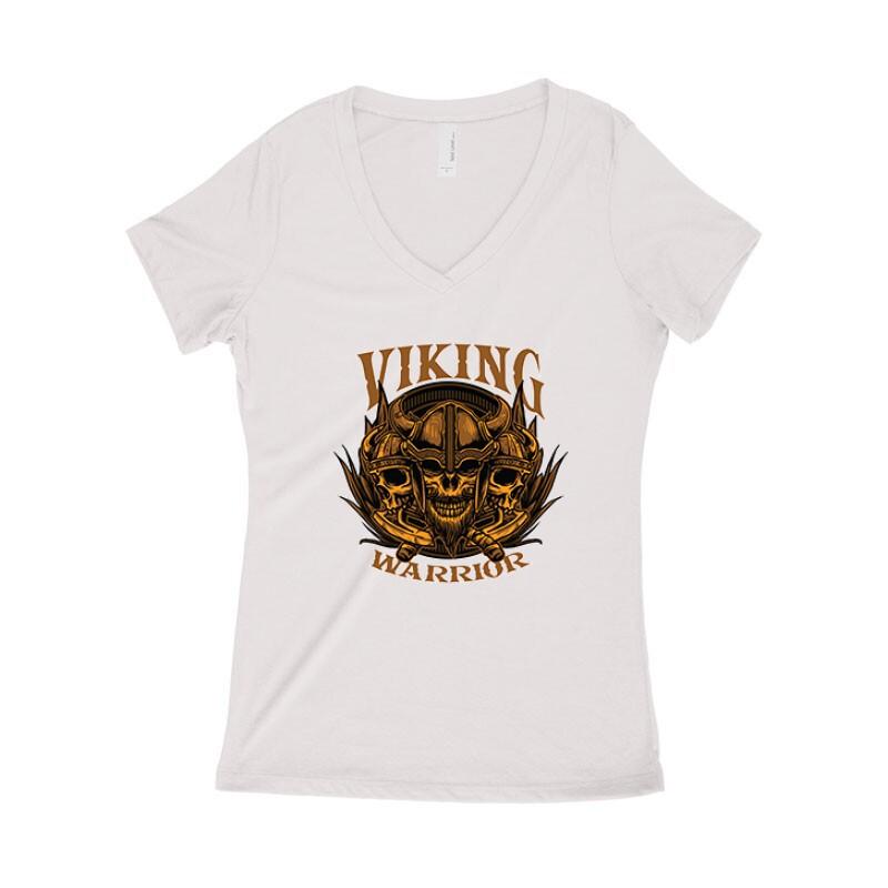 Warrior Női póló V kivágott