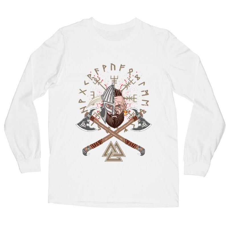 Viking warrior Hosszú ujjú póló
