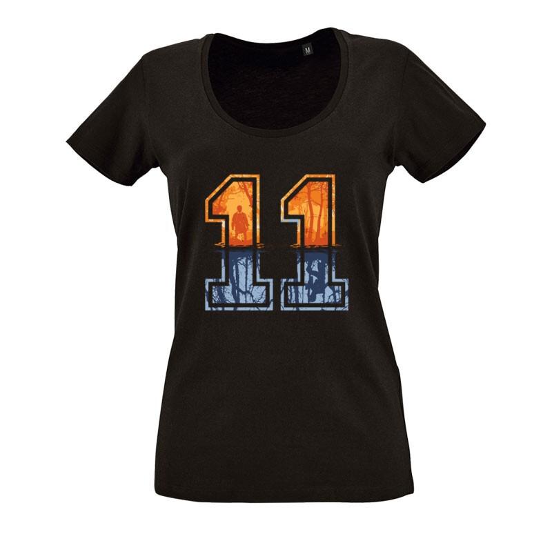 Stranger Things 11 O nyakú női póló