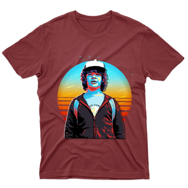 Dustin Henderson Férfi póló