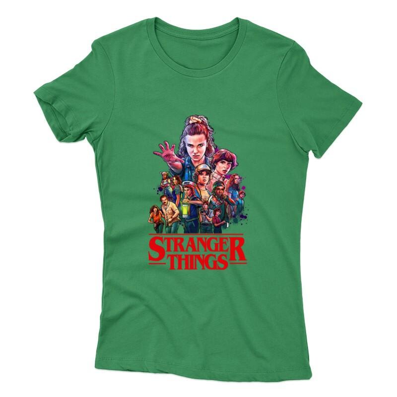 Stranger Things_1 Női póló