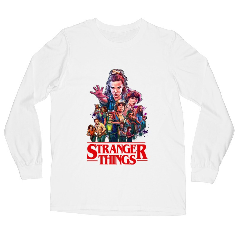 Stranger Things_1 Hosszú ujjú póló