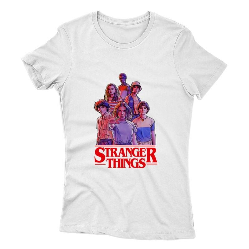 Stranger Things_2 Női póló