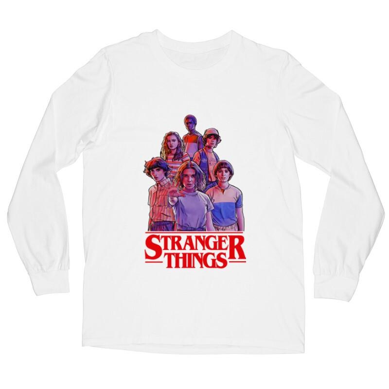 Stranger Things_2 Hosszú ujjú póló