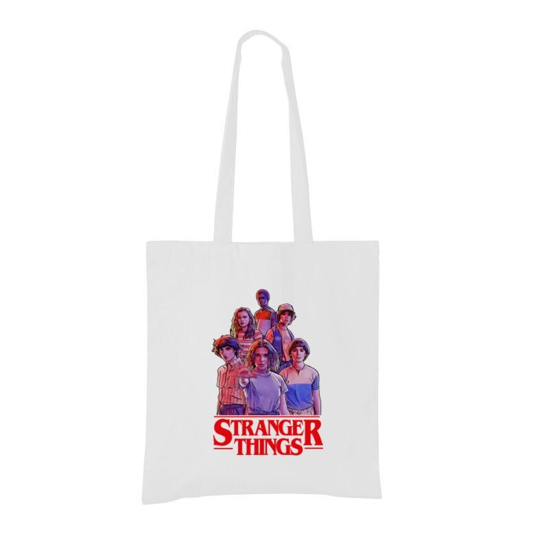 Stranger Things_2 Bevásárló táska
