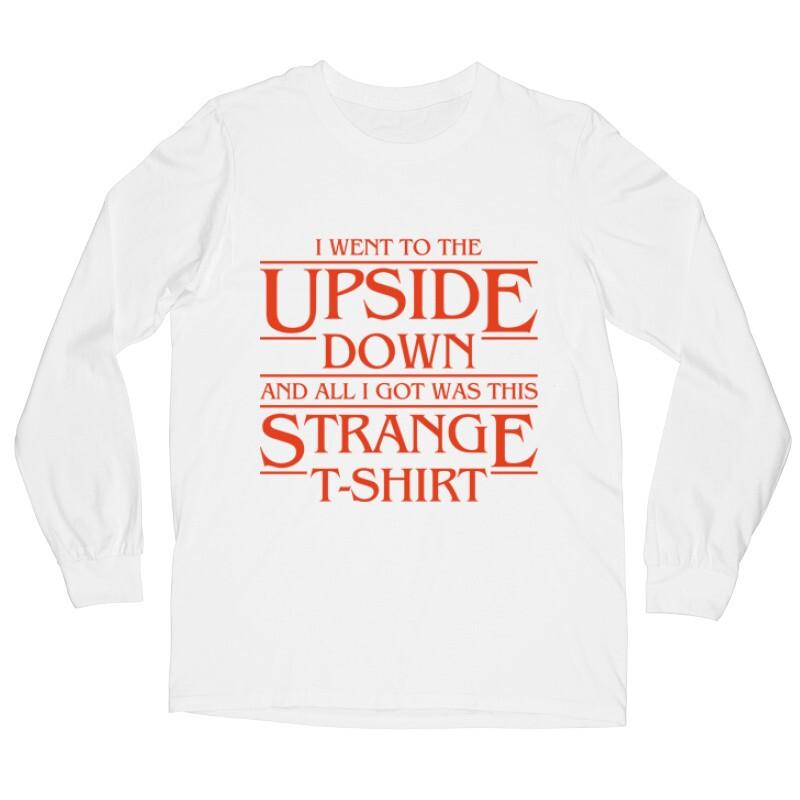 Strange Tshirt Hosszú ujjú póló