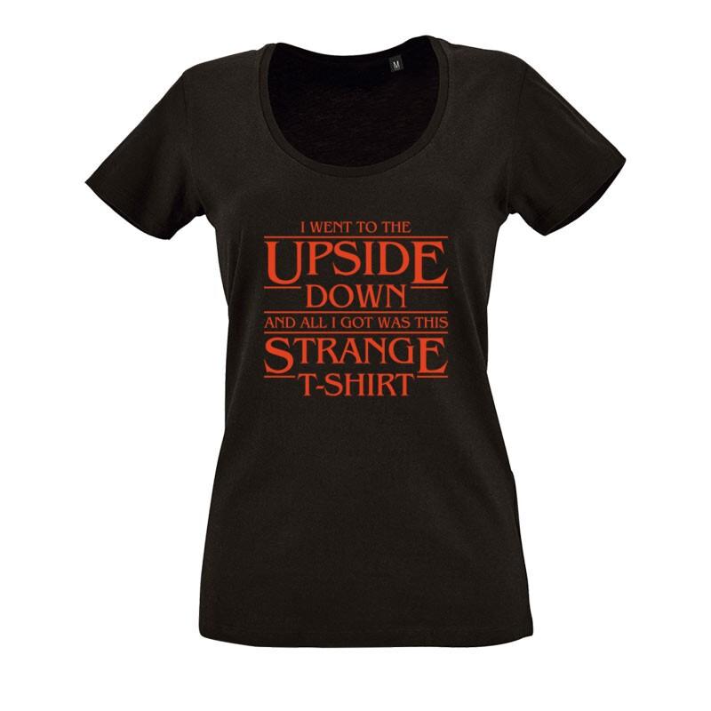 Strange Tshirt O nyakú női póló