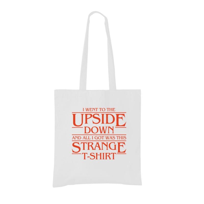 Strange Tshirt Bevásárló táska