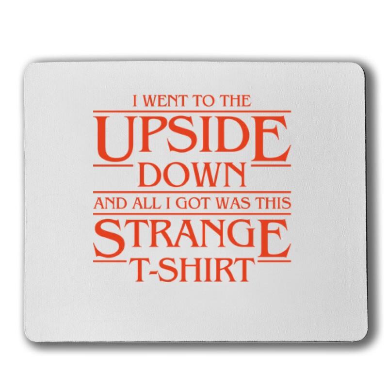 Strange Tshirt Egérpad