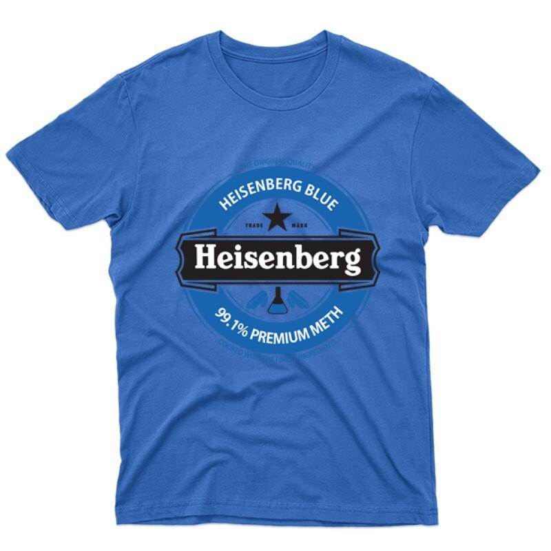 Heisenberg Blue Logo Férfi póló