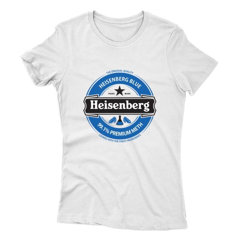 Heisenberg Blue Logo Női póló