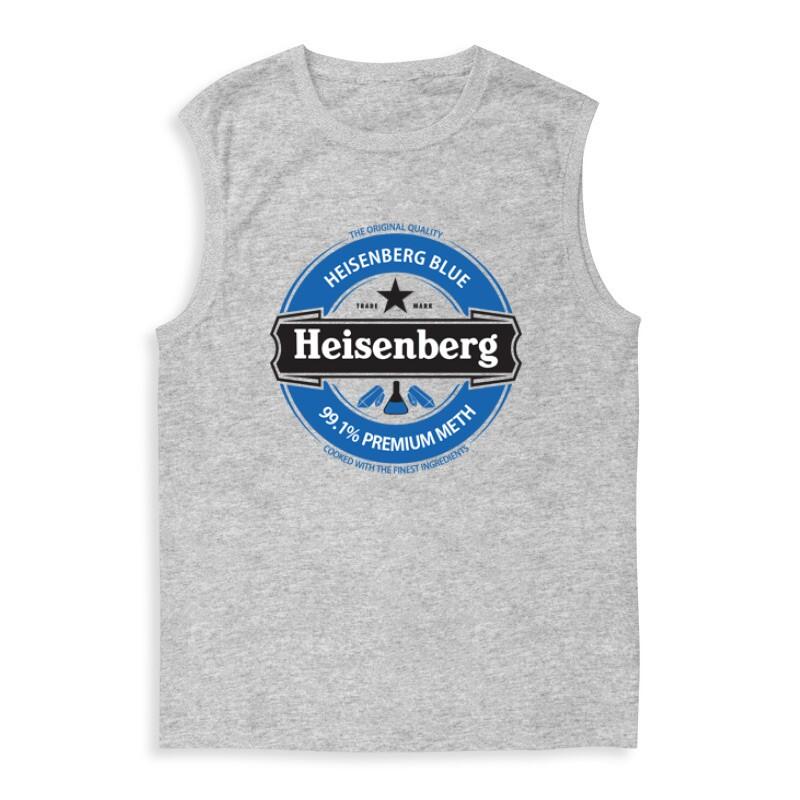 Heisenberg Blue Logo Férfi Trikó