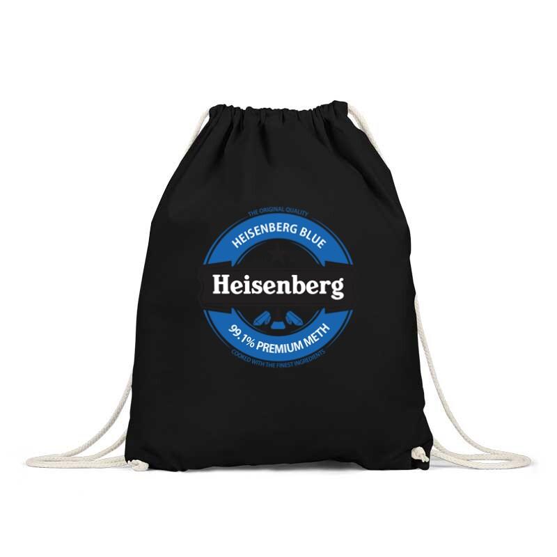 Heisenberg Blue Logo Tornazsák