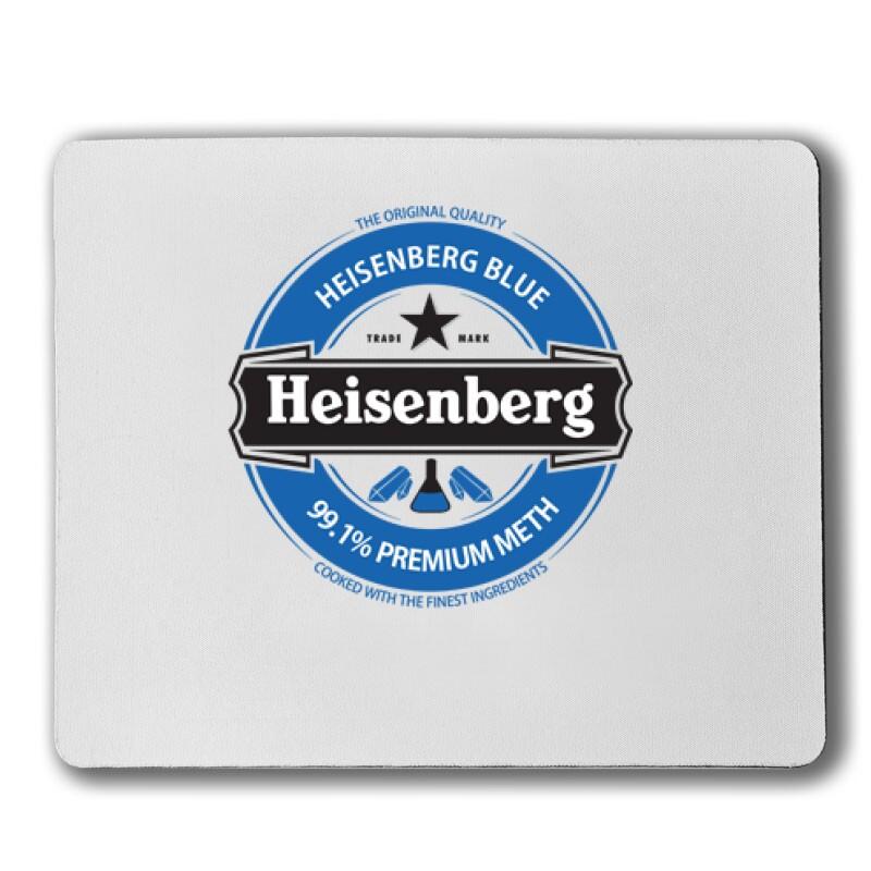 Heisenberg Blue Logo Egérpad
