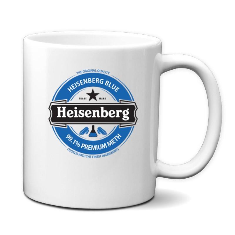 Heisenberg Blue Logo Bögre