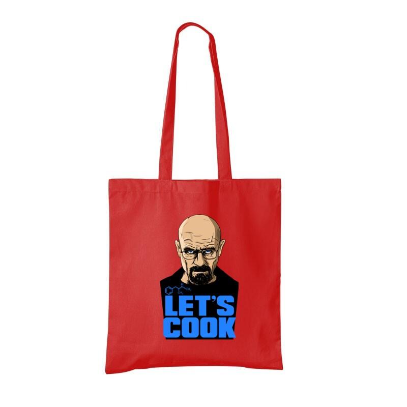 Let's Cook Bevásárló táska