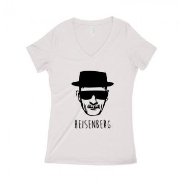 Heisenberg Női póló V kivágott