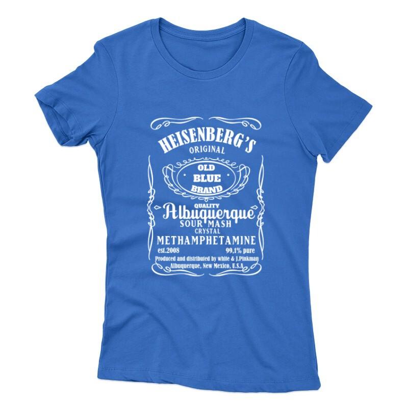 Heisenberg Whiskey Label Női póló