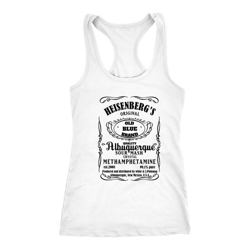 Heisenberg Whiskey Label Női Trikó