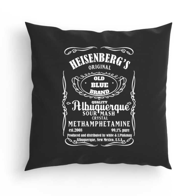 Heisenberg Whiskey Label Párna