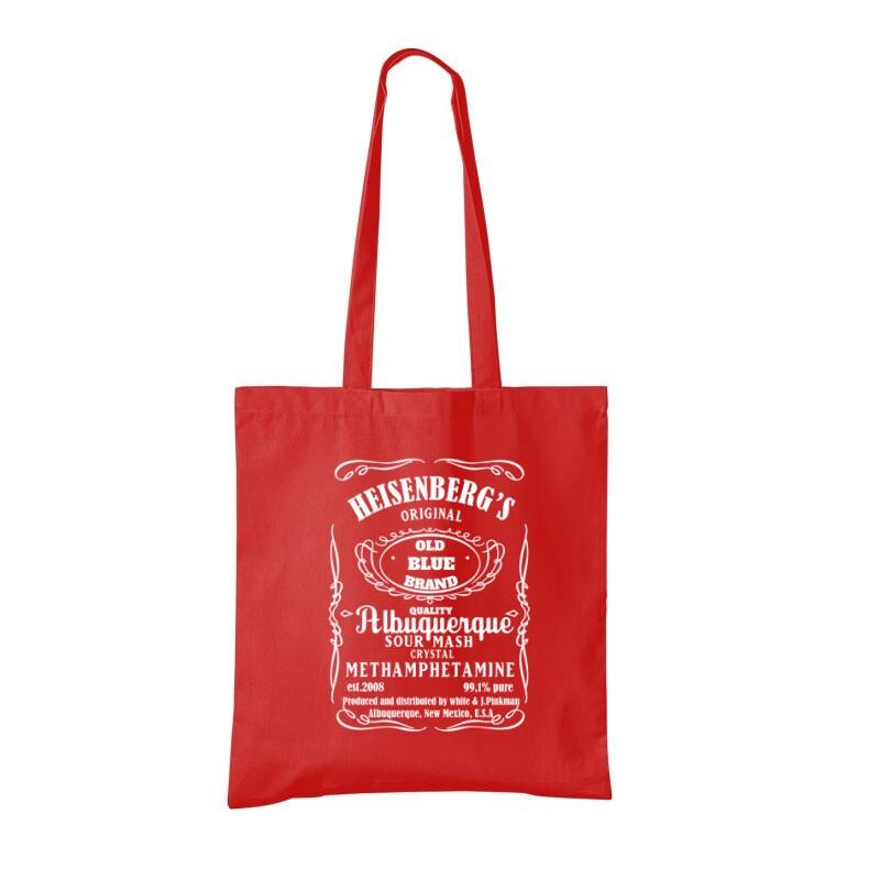 Heisenberg Whiskey Label Bevásárló táska