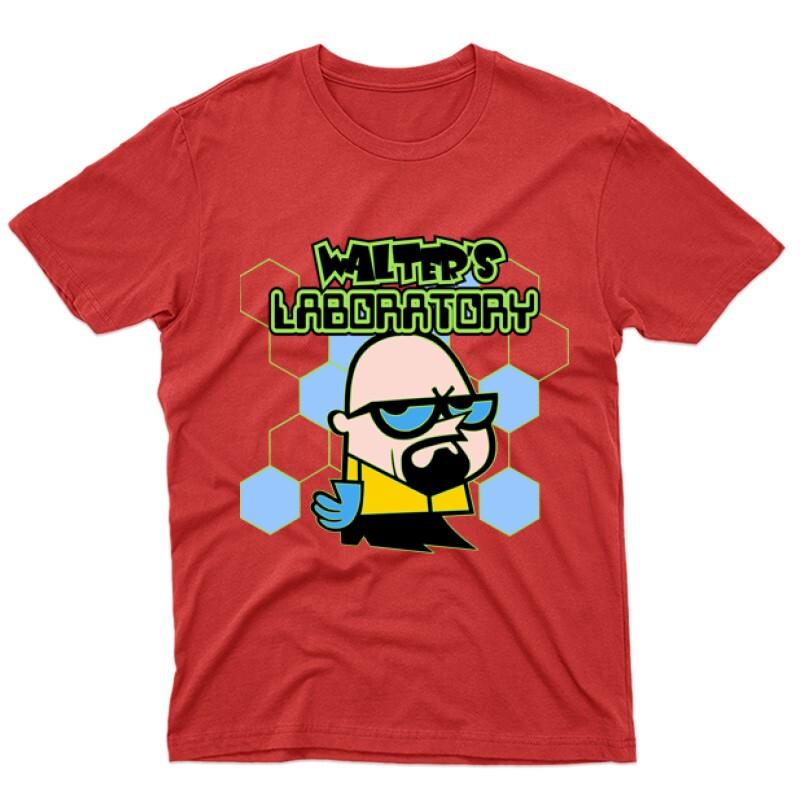 Walter's Laboratory Férfi póló