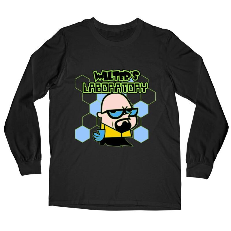 Walter's Laboratory Hosszú ujjú póló