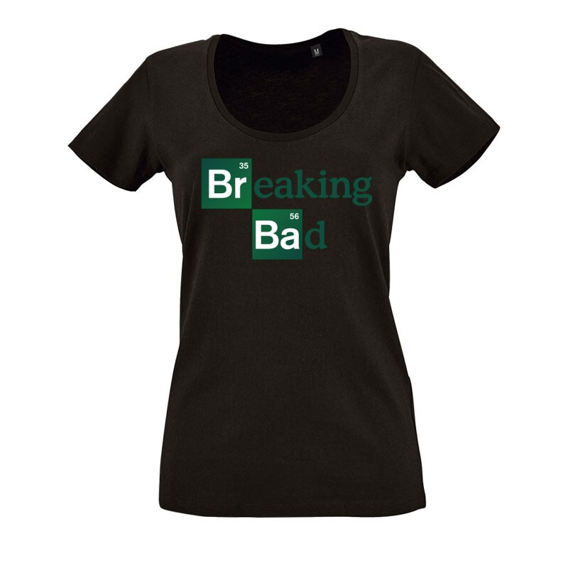 Breaking Bad O nyakú női póló