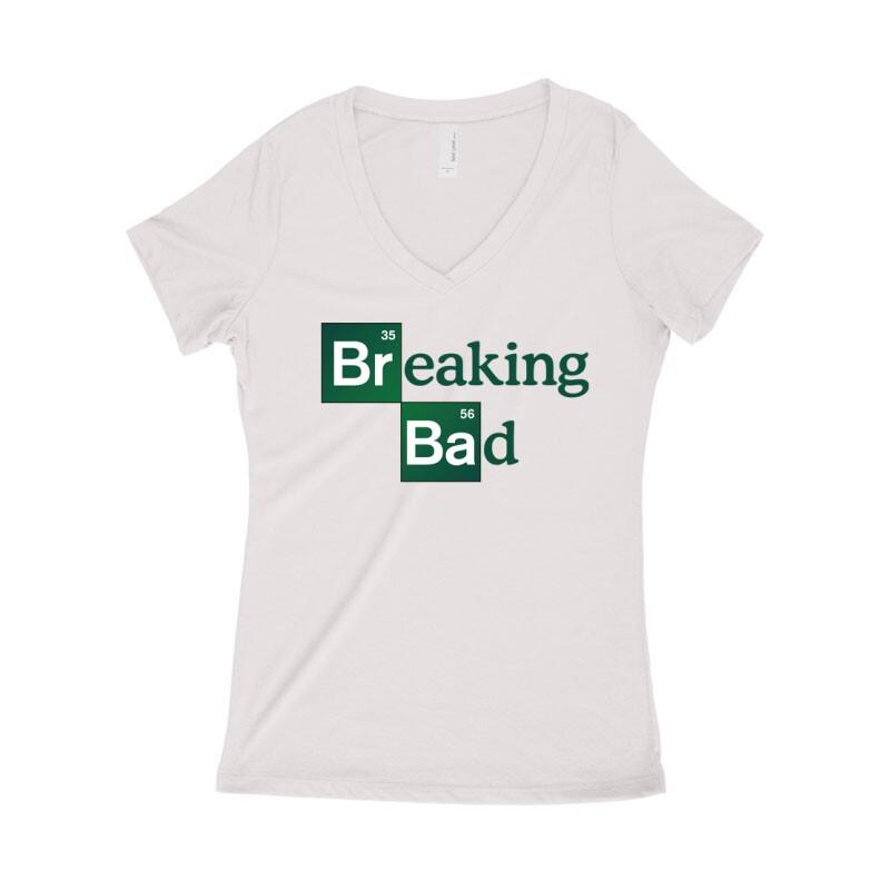 Breaking Bad Női póló V kivágott