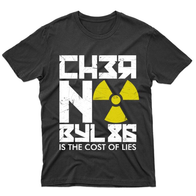 Csernobil Cirill Férfi póló