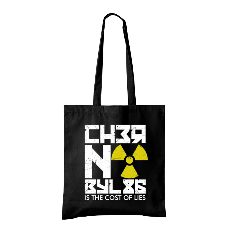 Csernobil Cirill Bevásárló táska