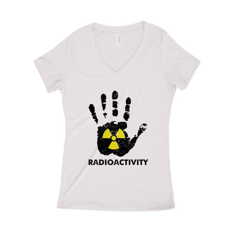 Radioactivity Női póló V kivágott
