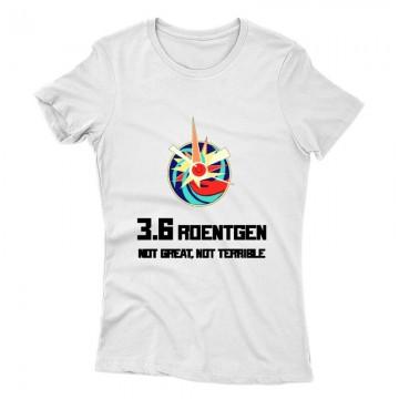 3,6 Roentgen Pripjaty Női póló