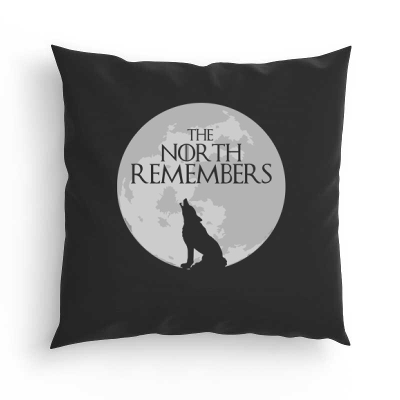 The North Remember(Moon) Párna