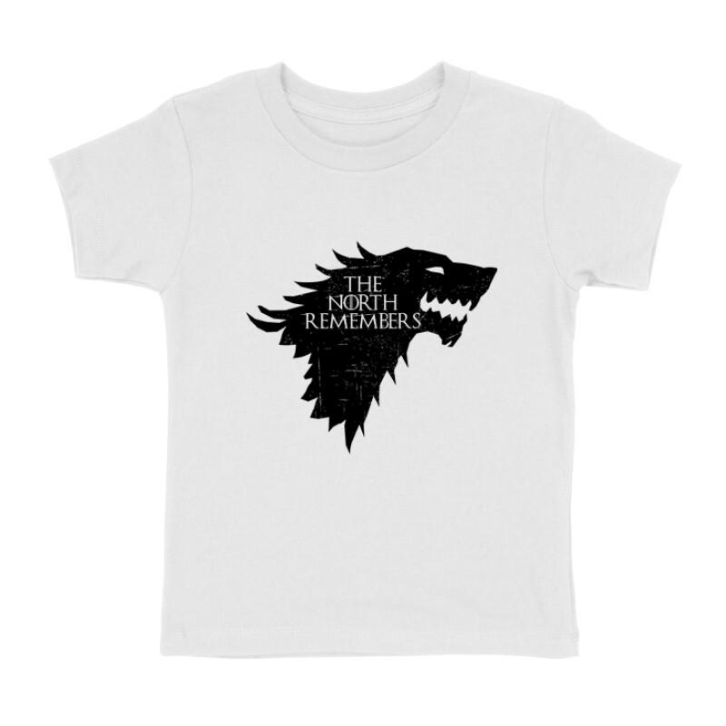The North Remember(Wolf) Gyermek póló