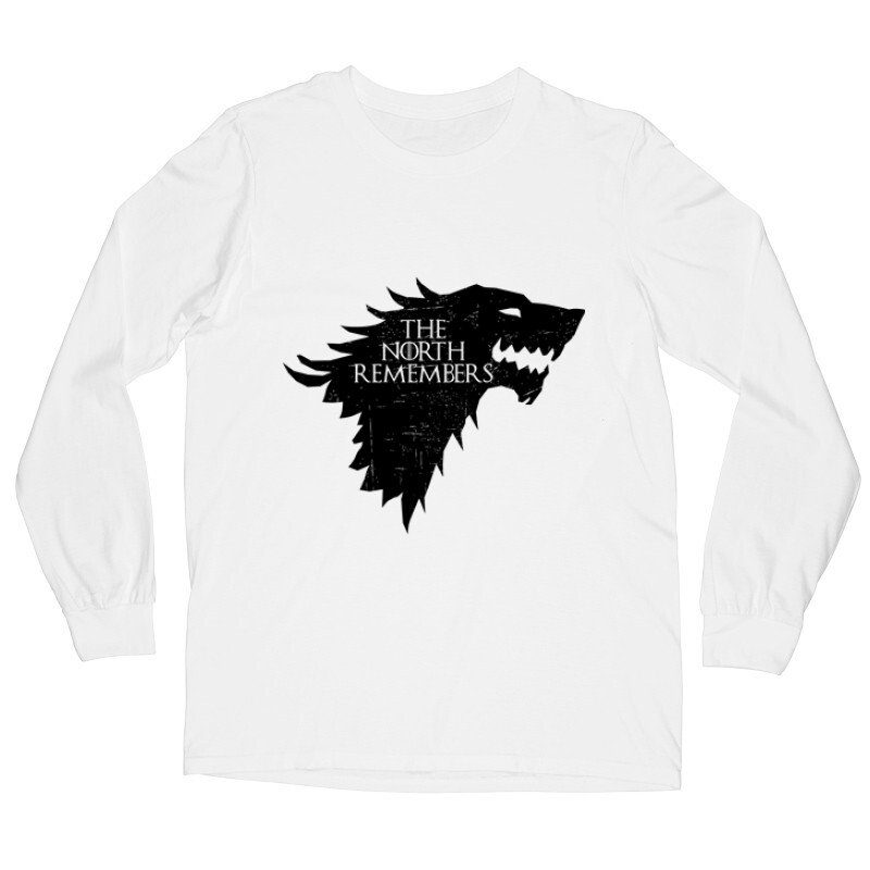 The North Remember(Wolf) Hosszú ujjú póló