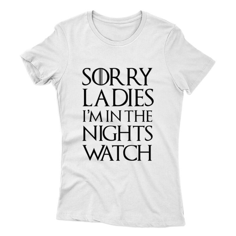 Sorry Ladys Női póló