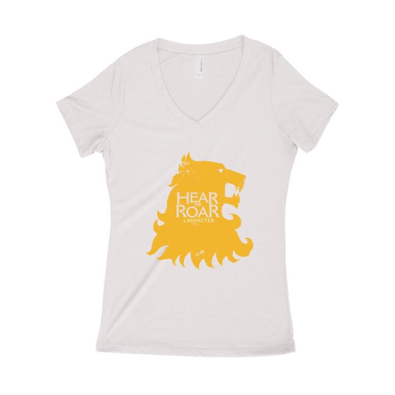 Lannister Női póló V kivágott