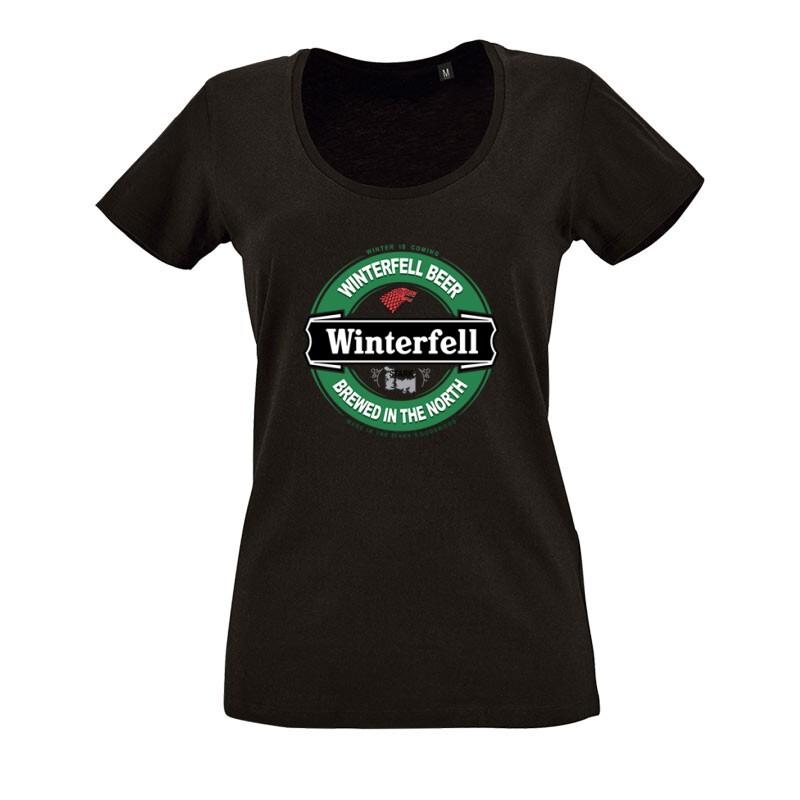Winterfell Beer O nyakú női póló