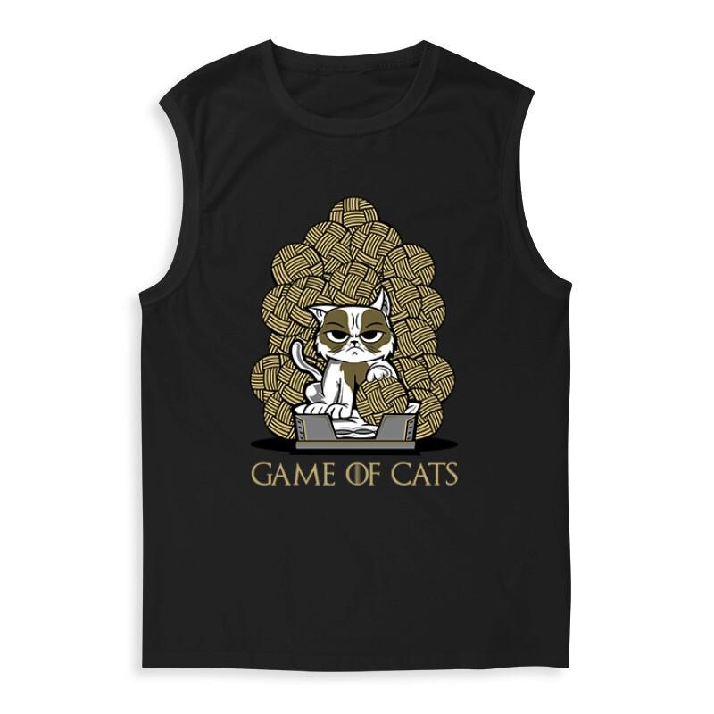 Game Of Cats Férfi Trikó