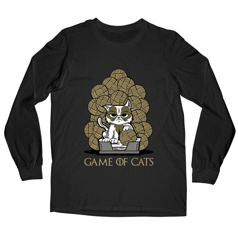 Game Of Cats Hosszú ujjú póló