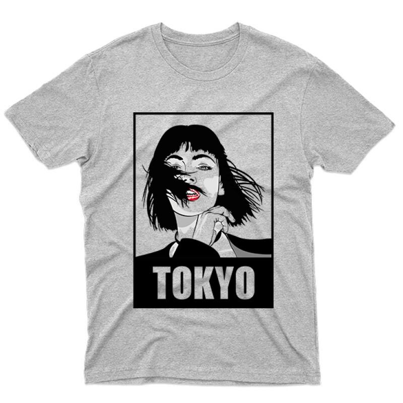 Tokyo Minimal Férfi póló