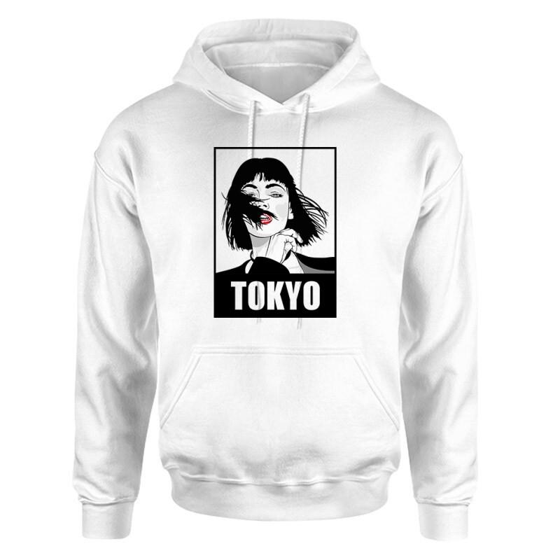 Tokyo Minimal Unisex pulóver