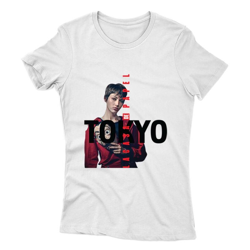 Tokyo Minimal Color Női póló