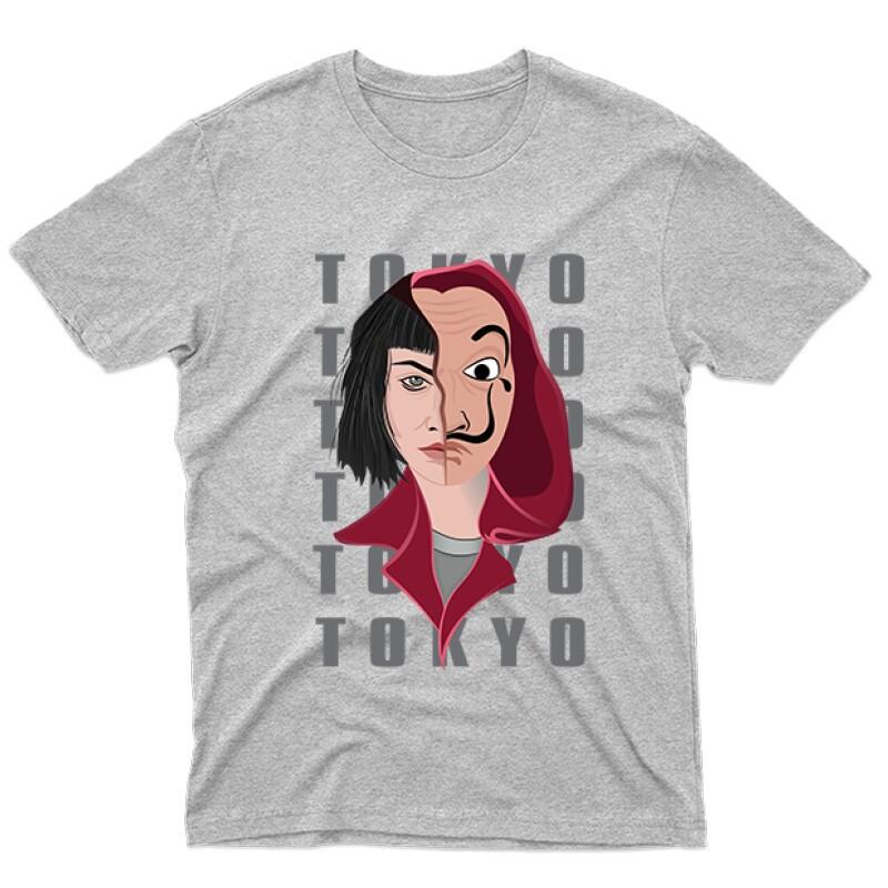 Tokyo Half Mask Férfi póló