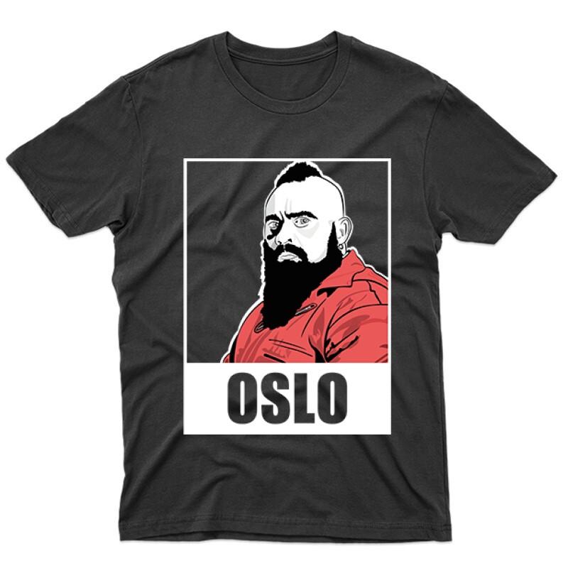Oslo Minimal Férfi póló