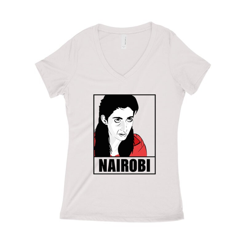 Nairobi Minimal Női póló V kivágott