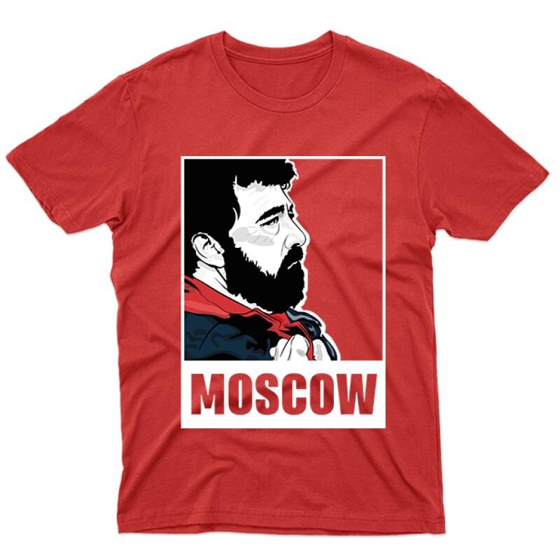 Moscow Minimal Férfi póló