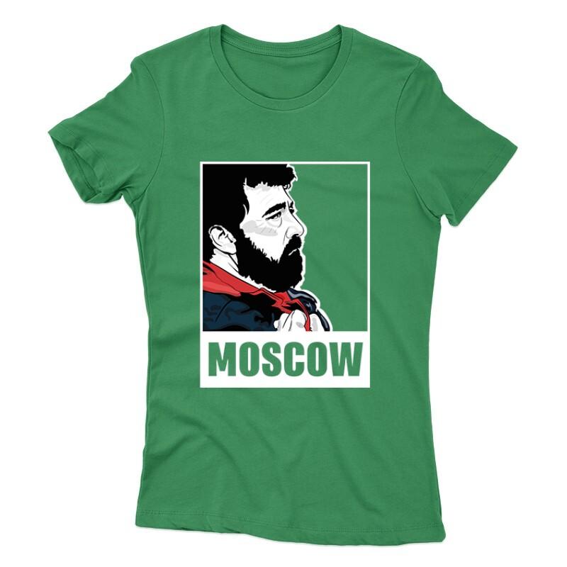 Moscow Minimal Női póló